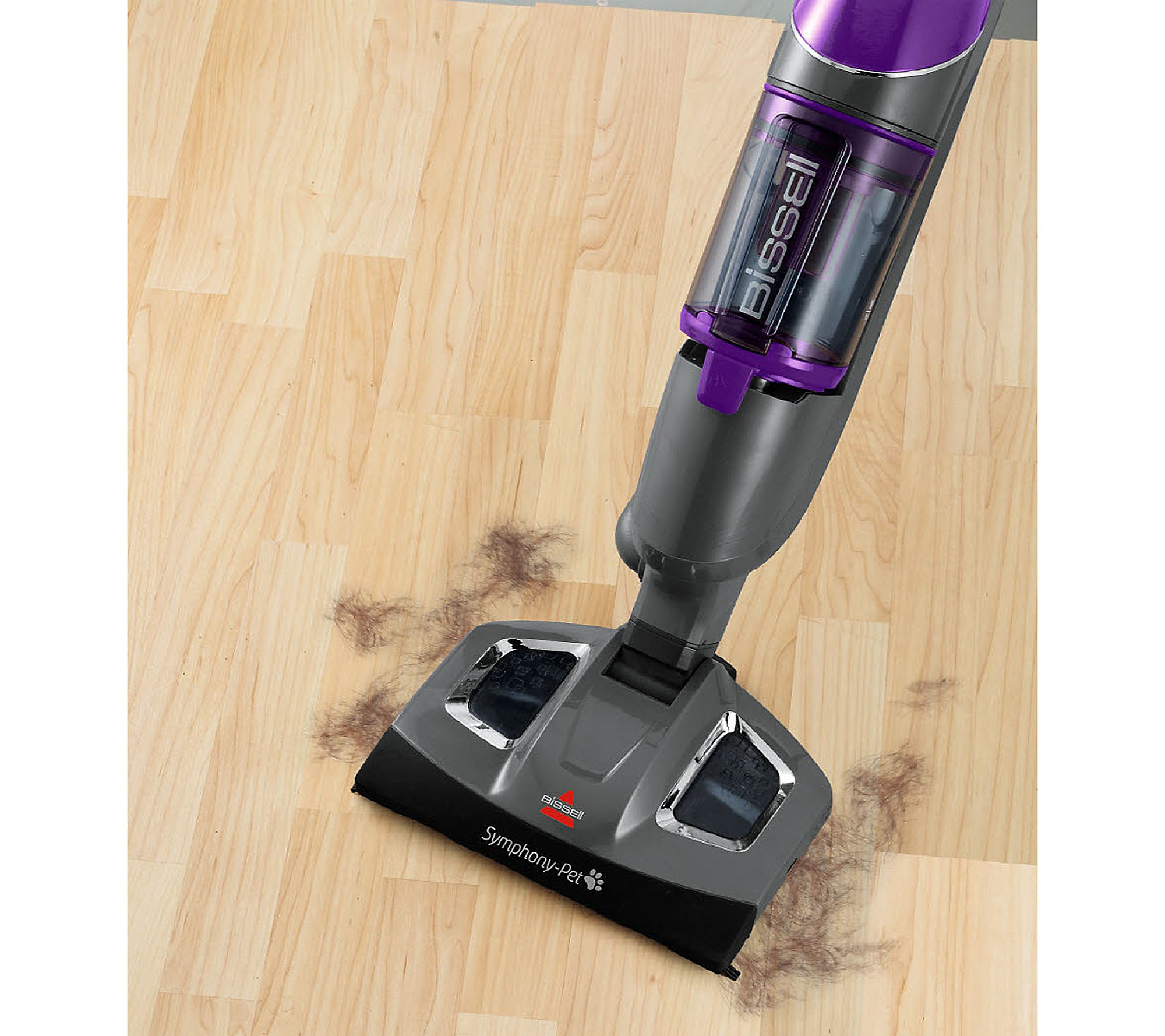Bissell Symphony Pet All In One Vacuum And Steam Mop Qvc Com
