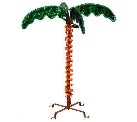 2 1 2 Led Rope Light Palm Tree By Vickerman