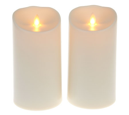 flameless candles with timer luminara s 2 7 quot outdoor flameless candles with timer 28703