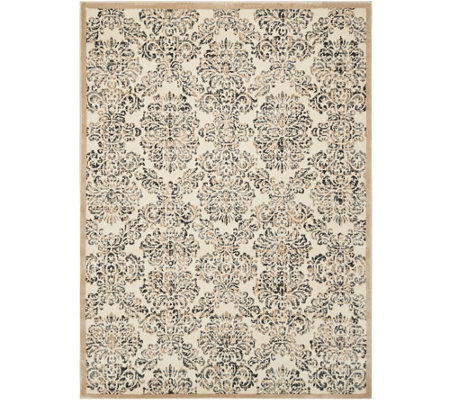 Inspire Me! Home Decor 5'x7' Vintage Damask Area Rug