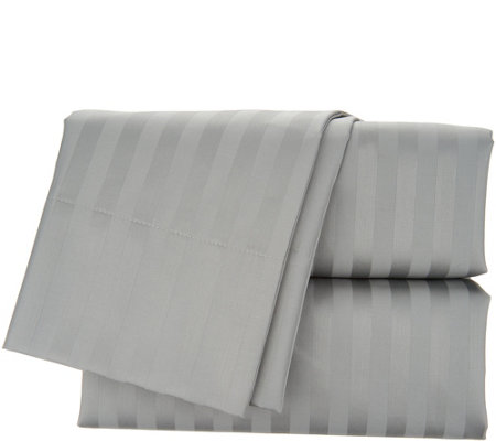 Scott Living 400TC 100% Cotton Tuxedo Stripe Sheet Set