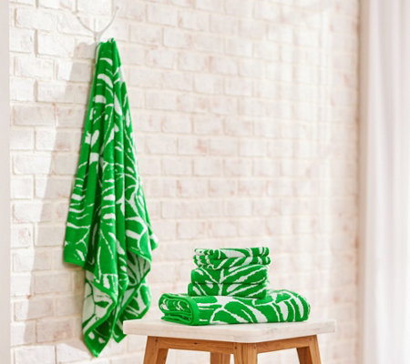 G I L I By Jill Martin X Weaveright 6 Pc Oversized Towel Set