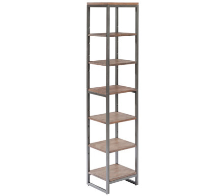 Home Styles Barnside Metro Seven-Tier Bath Shelf Tower