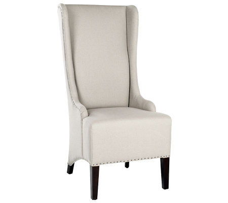 Safavieh Bacall Dining Chair with Carpenter Nailhead Trim