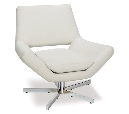 "Avenue Six Yield 31"" Wide Chair - White"