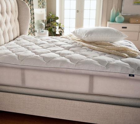 serta mattress topper queen Serta Perfect Sleeper Luxury Queen Mattress Topper with Scotchgard  serta mattress topper queen