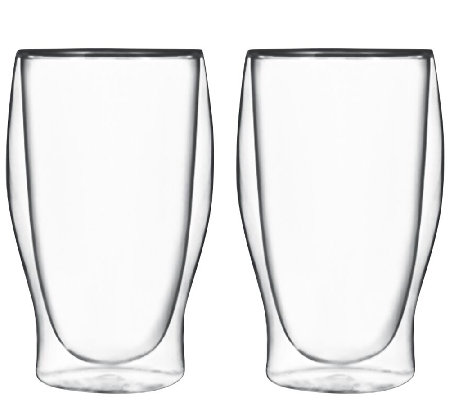 Luigi Bormioli Thermic Beverage Glasses - Set of 2