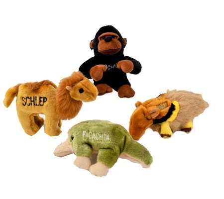 Chewish Treats Zoo Pals Bundle Dog Toys