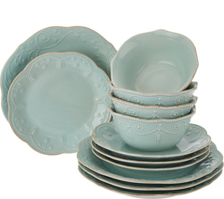 Lenox French Perle 12-pc Dinnerware Set