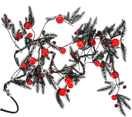 """As Is"" 5' Jingle Bell Garland by Valerie"