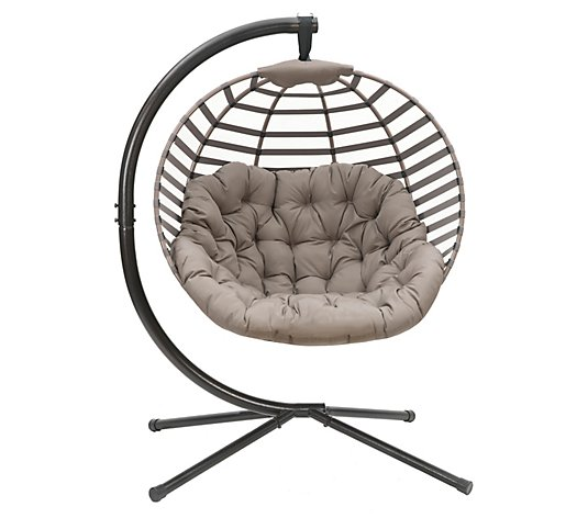Modern Hanging Ball Chair w/ Stand