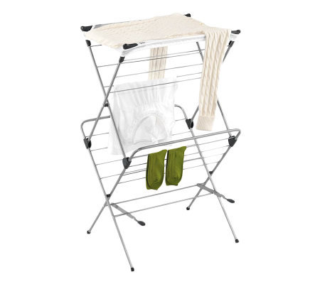 Honey-Can-Do 2-Tier Mesh Top Drying Rack