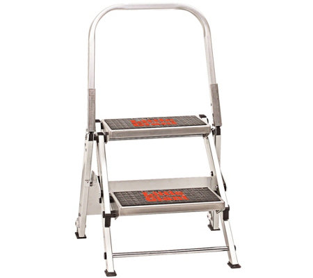 Little Giant Safety 2-Step Ladder 300-lb Capacity
