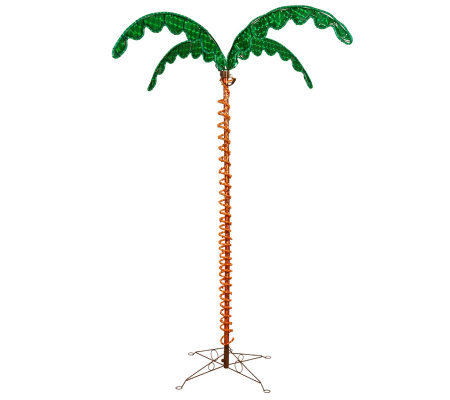 7' LED Rope Light Palm Tree by Vickerman
