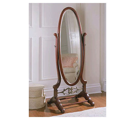Powell Cherry Cheval Mirror