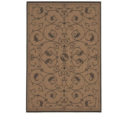 "Couristan Recife Veranda Indoor/Outdoor 5'3"" x7'6"" Rug"