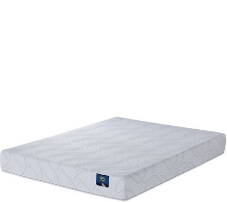 "Serta Zalia  Plush 8"" Memory Foam Full Mattress"