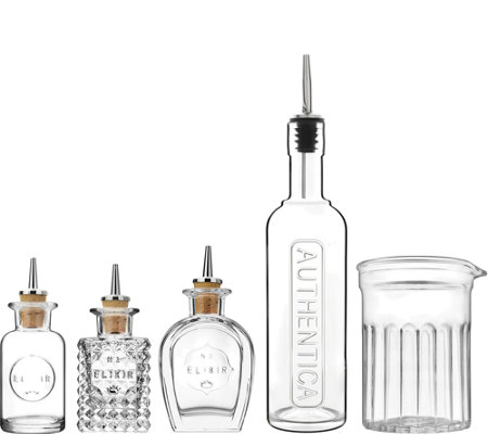 Luigi Bormioli Mixology 5-Piece Bar Set