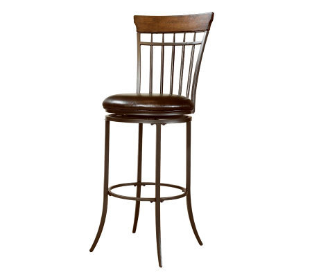 Hillsdale Furniture Cameron Swivel Spindle BarStool