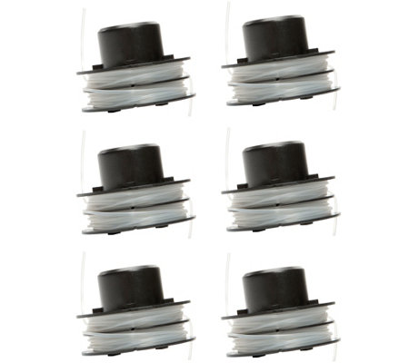Sun Joe 6-Pack Replacement Trimmer String for TRJ607E (M52474