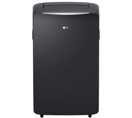 LG Portable Air Conditioner Up to 500-Sq Ft Room with Heating