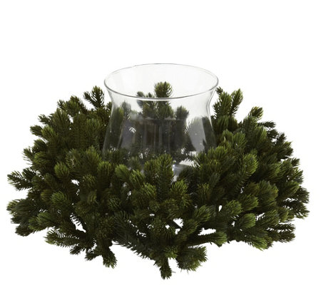 Pine Candelabrum by Nearly Natural