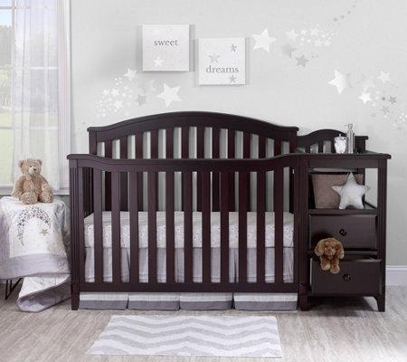 Sorelle Berkley Crib And Changer Qvc Com