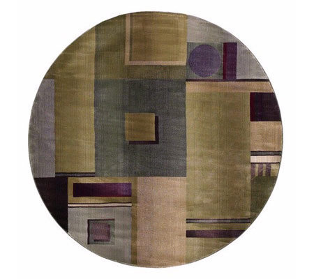 Sphinx Contempo 6' x 6' Round Rug by Oriental Weavers