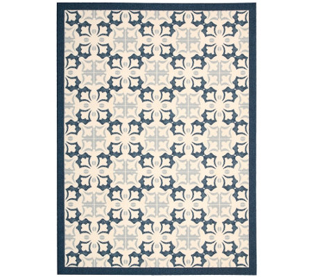 Enhance Geometric 5' x 7' Rug by Nourison