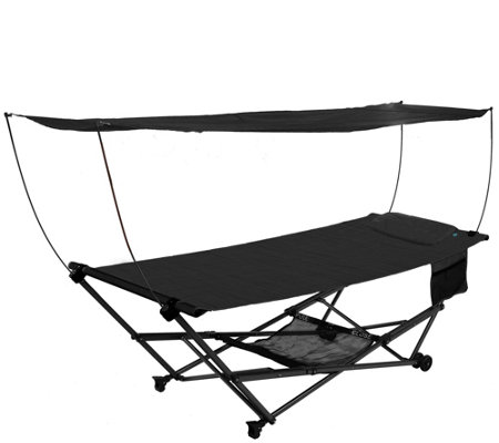 Bliss Hammocks Stow EZ Hammock with Canopy andStorage Bag