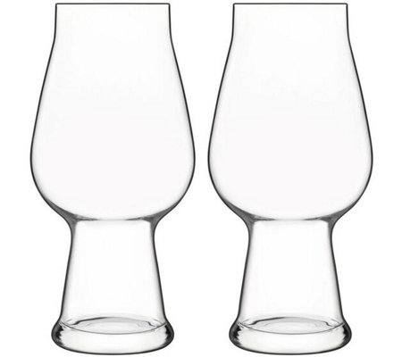 Luigi Bormioli Birrateque Set 18.25-oz IPA/White IPA Glasses
