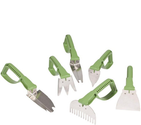 Vertex NaturalGrip 6 Piece Master Gardener's Tool Set
