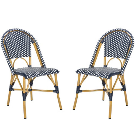 Safavieh Salcha Set Of Two Indoor/Outdoor Bistro Chairs
