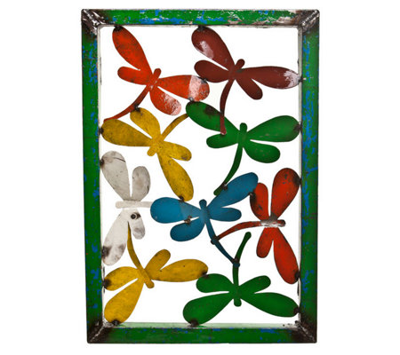 Barnyard Dragonfly Wall Panel Large
