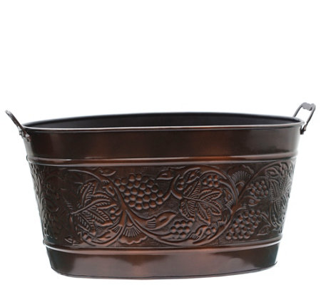 Old Dutch Antiqued Embossed Heritage Party Tub