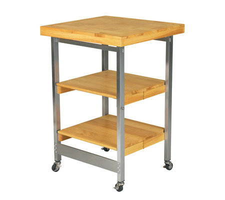 folding kitchen island oasis folding kitchen island page 1 qvc com 4967