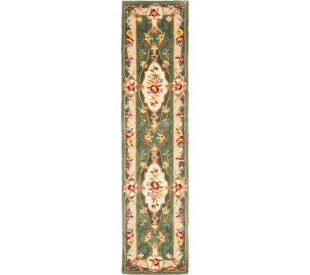 "Royal Palace Special Edition Savonnerie 2'3""x9'6"" Wool Rug"
