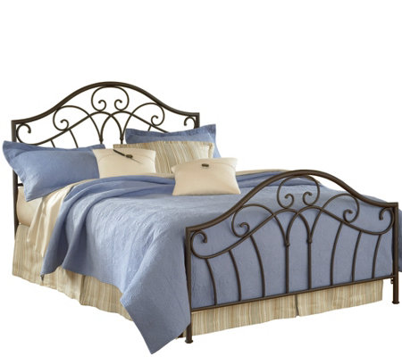 Hillsdale Furniture's Josephine Bed Set - Queen- w/Rails