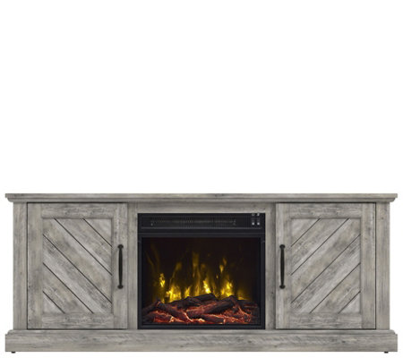 Classic Flame Belcrest TV Stand with Electric Fireplace