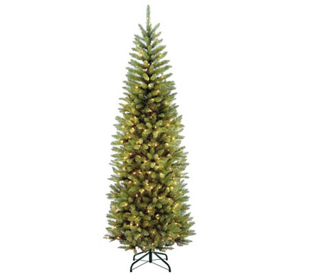 National Tree Company 7.5' Prelit Kingswood FirTree