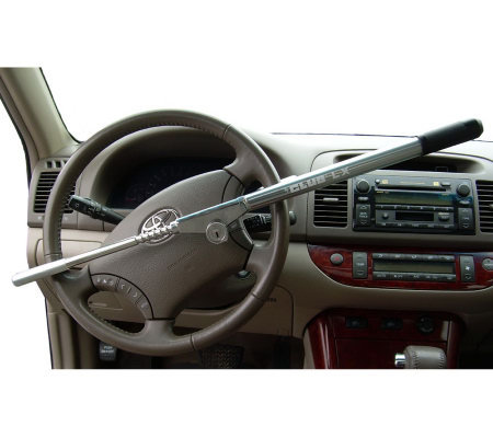 The Club LX Steering Wheel Lock