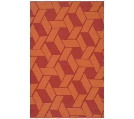 Thom Filicia 4' x 6' Danforth Recycled PlasticOutdoor Rug