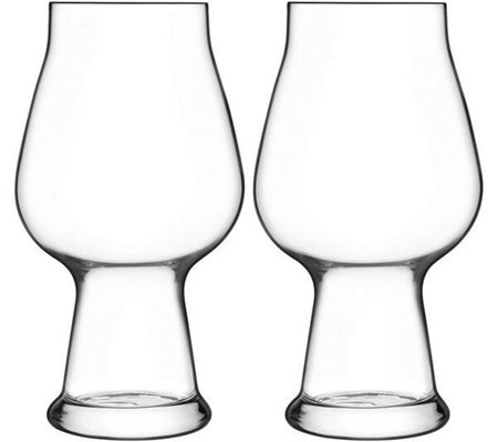 Luigi Bormioli Birrateque Set of Two 20.25-oz Stout Glasses