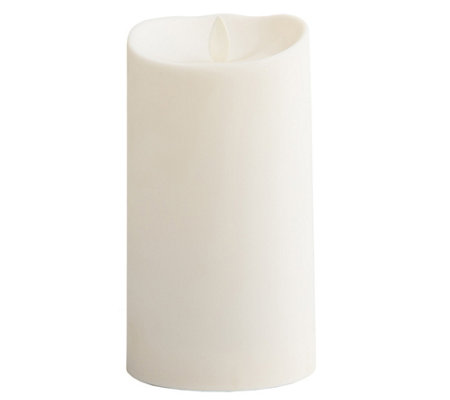 "Luminara 7"" Outdoor Candle with Soft-TouchCoating"