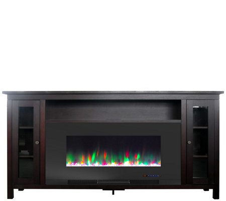 Cambridge Somerset 70 Fireplace Tv Stand Withrock Display
