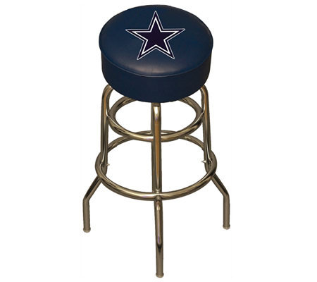 Nfl dallas cowboys bar stool qvc nfl dallas cowboys bar stool watchthetrailerfo
