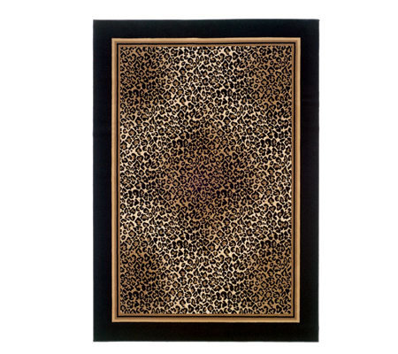 "Couristan Everest Leopard 5'3"" x 7'6"" Rug"