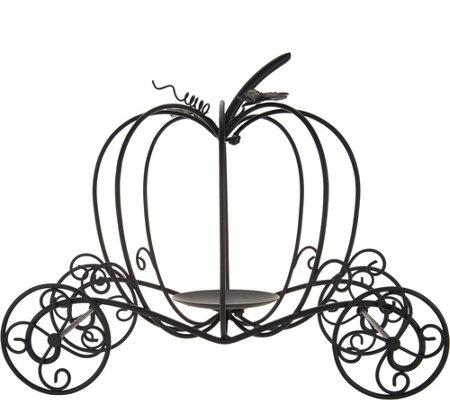 Metal Pumpkin Carriage By Valerie