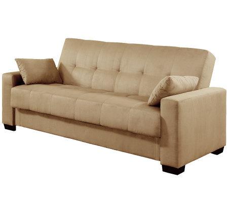 Serta click clack sofa reviews farmersagentartruizcom for Qvc sofa bed