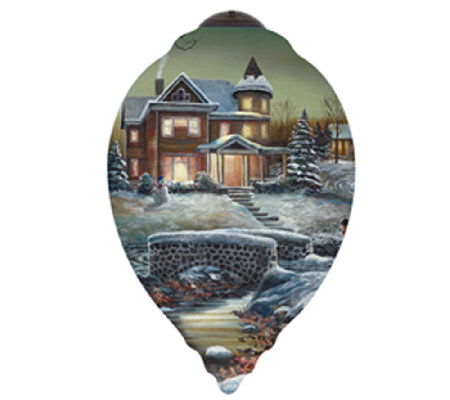 Limited Edition Homeward Bound Ornament by Ne'Qwa